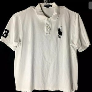 Polo By Ralph Lauren Mens Shirt Knit Pony Logo